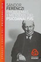 problemas y metodos del psicoanalisis sandor ferenczi 9789506180140