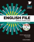 english file advanced students book multipack a pack 9780194502450