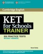 ket for schools trainer without answers-karen saxby-9780521132350