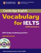 cambridge vocabulary for ielts with answers and audio cd-pauline cullen-9780521709750