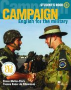 campaign english for the military 2 student s book yvonne baker de altamirano simon mellor clark 9781405009850