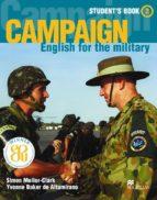 campaign english for the military 2 student s book-yvonne baker de altamirano-simon mellor clark-9781405009850