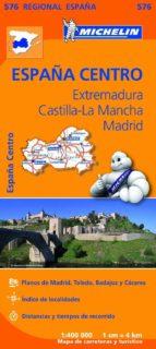 mapa regional extremadura, castilla la mancha, madrid-9782067184350