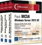 mcsa windows server 2012 r2: pack 3 libros   preparacion para los examenes 70 410, 70 411 y 70 412 armelin asimane nicolas bonnet 9782746096950