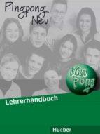 ping pong neu 2. lehrerhandbuch (profesor) gabriele kopp 9783190216550