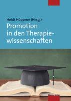promotion in den therapiewissenschaften (ebook) 9783863212650