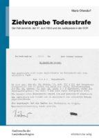 zielvorgabe todesstrafe (ebook)-9783954621750