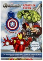 los vengadores: heroes en accion (libro con llavero)-9788415343950