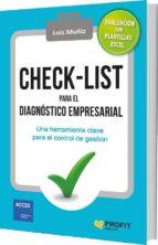 check-list para el diagnostico empresarial-luis muñiz-9788416583850