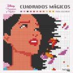 cuadrados mágicos para colorear. hadas y princesas disney 9788417240950