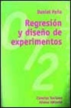regresion y diseño de experimentos daniel peña 9788420686950