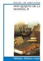 don quijote de la mancha ii-miguel de cervantes saavedra-9788420727950