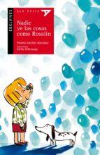 nadie ve las cosas como rosalin paloma sanchez ibarzabal 9788426380050