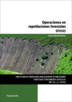operaciones en repoblaciones forestales carlos calderon guerrero 9788428325950