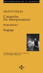 categorias/de interpretatione/isagoge 9788430956050