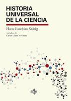 historia universal de la ciencia hans joachim störig 9788430969050