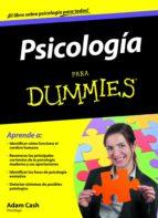 psicologia para dummies-adam cash-9788432921650