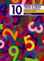 PASO A PASO 10. CALCULO Y PROBLEMAS: DIVISION