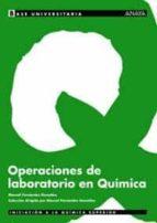 operaciones de laboratorio en quimica-manuel fernandez gonzalez-9788466736350