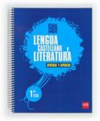 cuaderno  de lengua castellana y literatura 1º eso aprende y aprueba-9788467553550