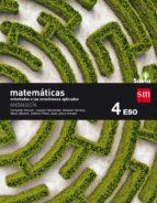 matemáticas orientadas a las ciencias aplicadas 4º eso savia andalucía 9788467586350