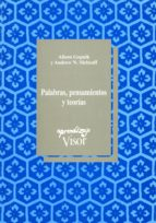 palabras, pensamientos y teorias alison gopnik andrew a. meltzoff 9788477741350