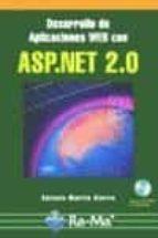 desarrollo de aplicaciones web con asp.net 2.0-antonio martin sierra-9788478977550