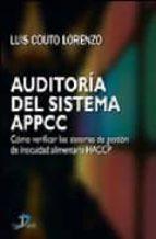 auditoria del sistema de appcc luis couto lorenzo 9788479788650