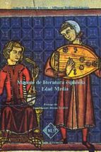 manual de literatura española: edad media (tomo i)-felipe b. pedraza jimenez-9788485511150