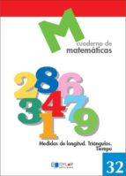 cuaderno de matematicas 32 (dylar)-9788489655850