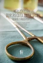 instrumentación quirúrgica en enfermería-carmen patricia arencibia sanchez-9788491930150