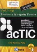 actic 2 mitja qüestionaris (3ª ed.)-luis martinez peña-9788494184550