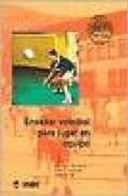 enseñar voleibol para jugar en equipo-georges bonefoy-henri lahuppe-robert ne-9788495114150