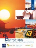 bienvenidos 1 (alumno + cd rom interactivo pc (ele: español lengu a extranjera) (cd rom) 9788496942950