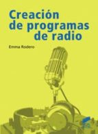 creacion de programas de radio emma rodero 9788497567350