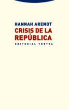 crisis de la republica-hannah arendt-9788498795950