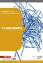 carpinteros. temario, test y supuestos practicos 9788499378350