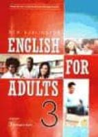new burlington english for adults 3 (student´s book) 9789963482450