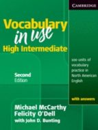 vocabulary in use upper intermediate with answers (american engli sh) michael mccarthy 9780521123860