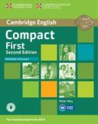 compact first second edition workbook with answers with audio-9781107428560