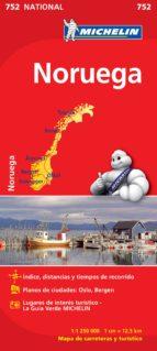 mapa noruega 2012 (ref. 752) 9782067172760