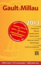Guide gault millau france 2013 Audiolibros gratis para descarga directa