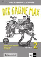 der grune max 2 ejercicios+cd 9783126062060