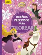 enredados: la serie: diseños preciosos para colorear 9788416917860