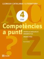 competències a punt! llengua 4 eso ed 2013  cataluña/balears 9788421853160