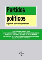 partidos politicos: regulacion, financiacion y contabilidad 9788430965960