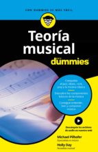 teoria musical para dummies michael pilhofer holly day 9788432903960