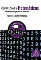 matematicas faciles para bachillerato (chuletas) 9788467027860