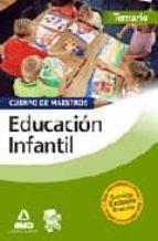 CUERPO DE MAESTROS. EDUCACION INFANTIL. TEMARIO
