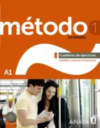metodo 1 de español: cuaderno de ejercicios a1 9788467830460